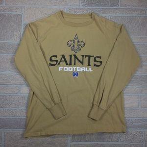 New Orleans Saints NFL Long Sleeve Cotton Shirt